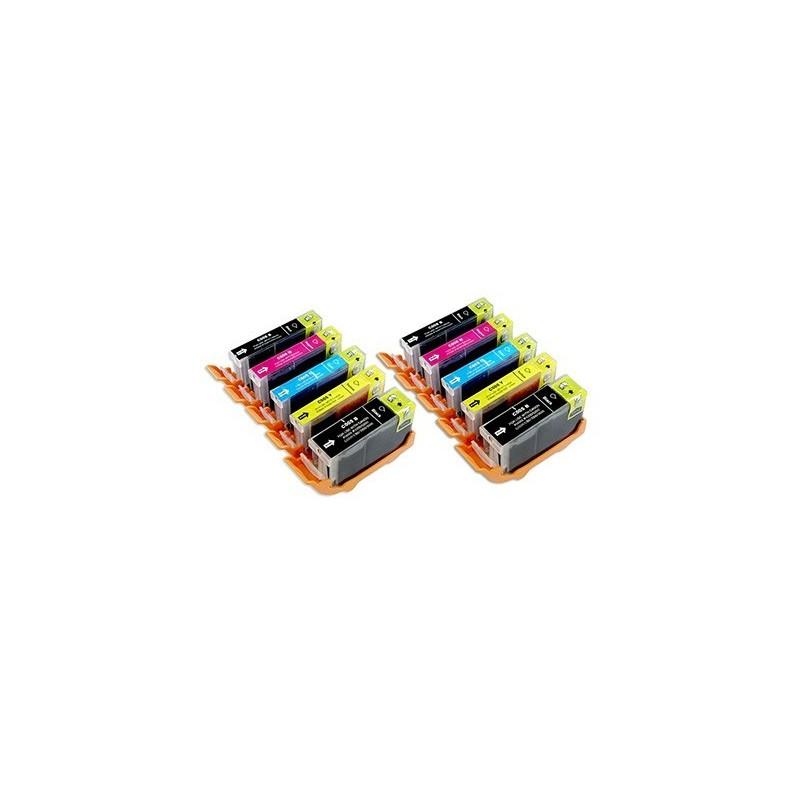 CANON CLI8 bläck multipack 10 pack kompatibla