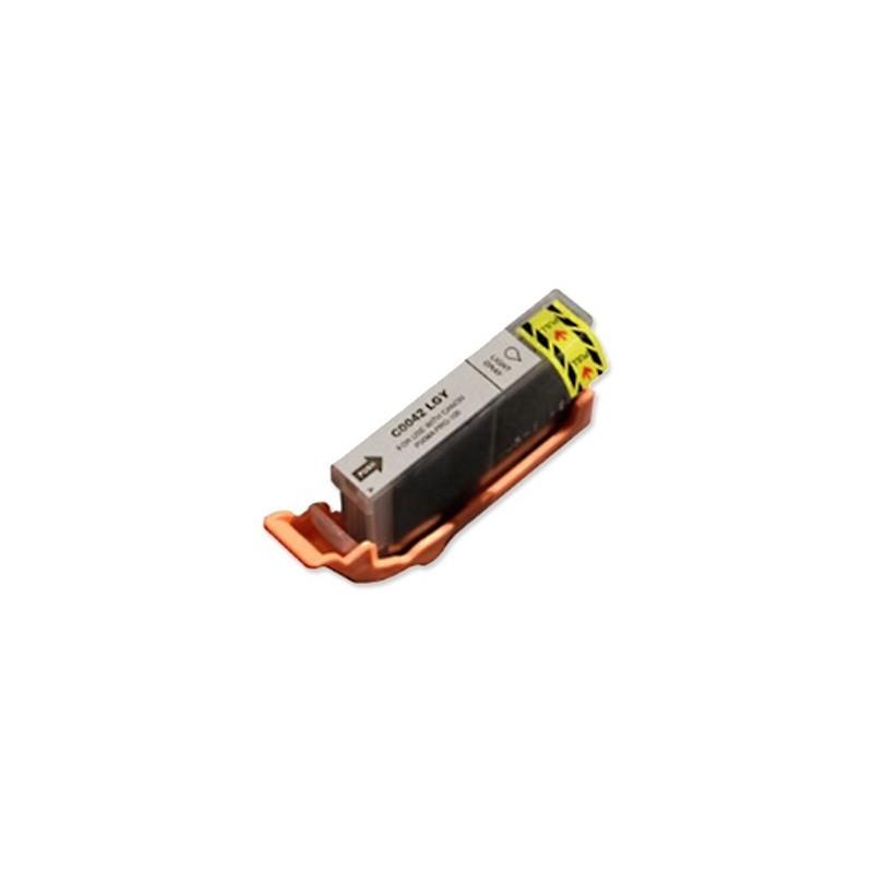 CANON CLI42LGY ljusgrå bläckpatron kompatibel