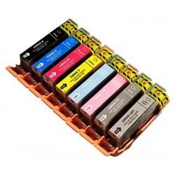 CANON CLI42 bläckpatroner multipack 8 pack kompatibla