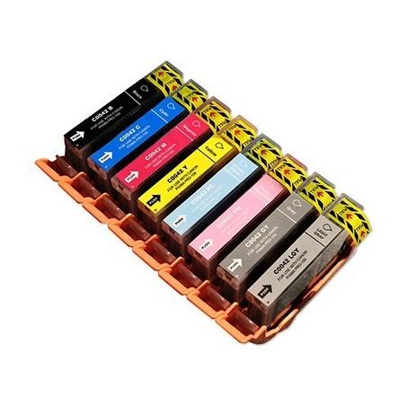CANON CLI42 8-pack bläckpatroner multipack kompatibla