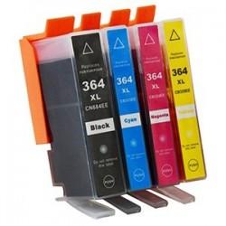 HP 364XL bläckpatroner multipack 4-pack kompatibla