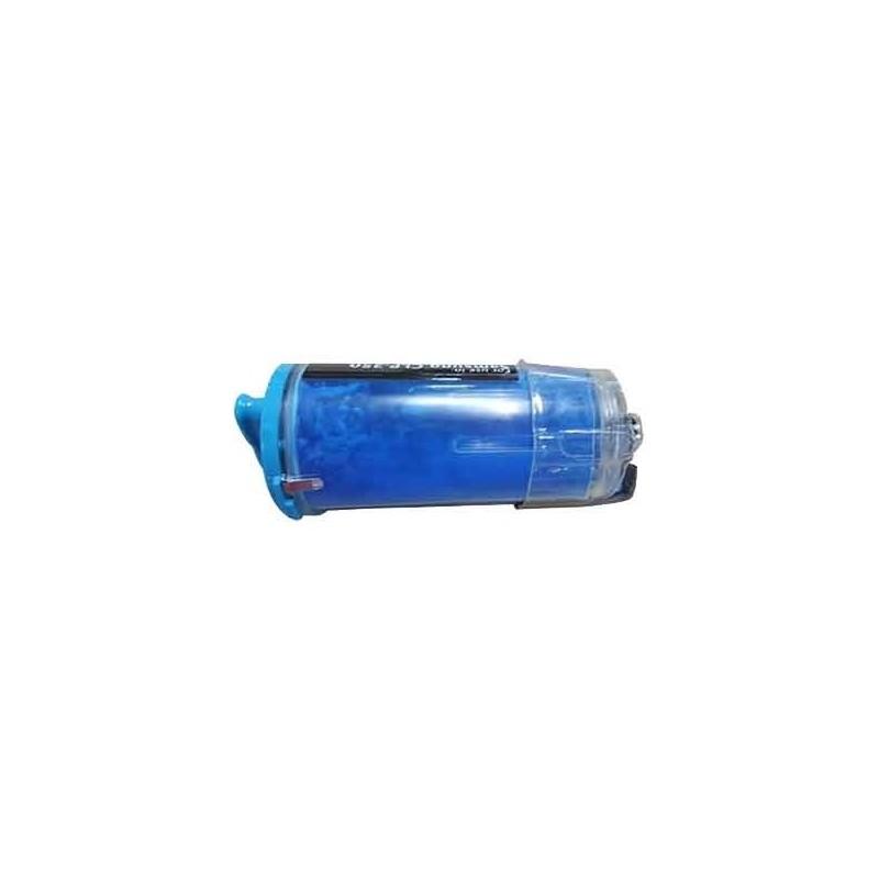 SAMSUNG CLPC350A cyan lasertoner kompatibel