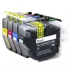 BROTHER LC3219XL bläckpatroner multipack 4-pack kompatibla