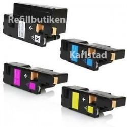 XEROX 106R02759-58-57-56 4-pack lasertoner set kompatibla