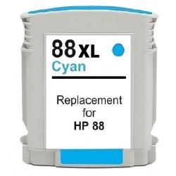 HP 88XL cyan bläckpatron kompatibel