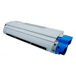 OKI 43872307 cyan lasertoner kompatibel