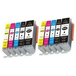 CANON CLI551XL bläck multipack 10-pack kompatibla