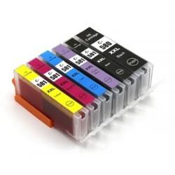 CANON PGI580XXL CLI581XXL 6 pack multipack bläck kompatibla