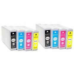 EPSON T7015 bläckpatroner multipack 8-pack kompatibla