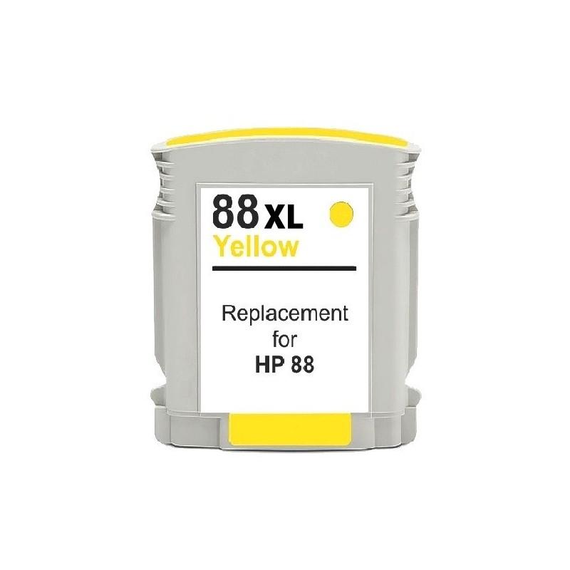 HP 88XL gul bläckpatron kompatibel