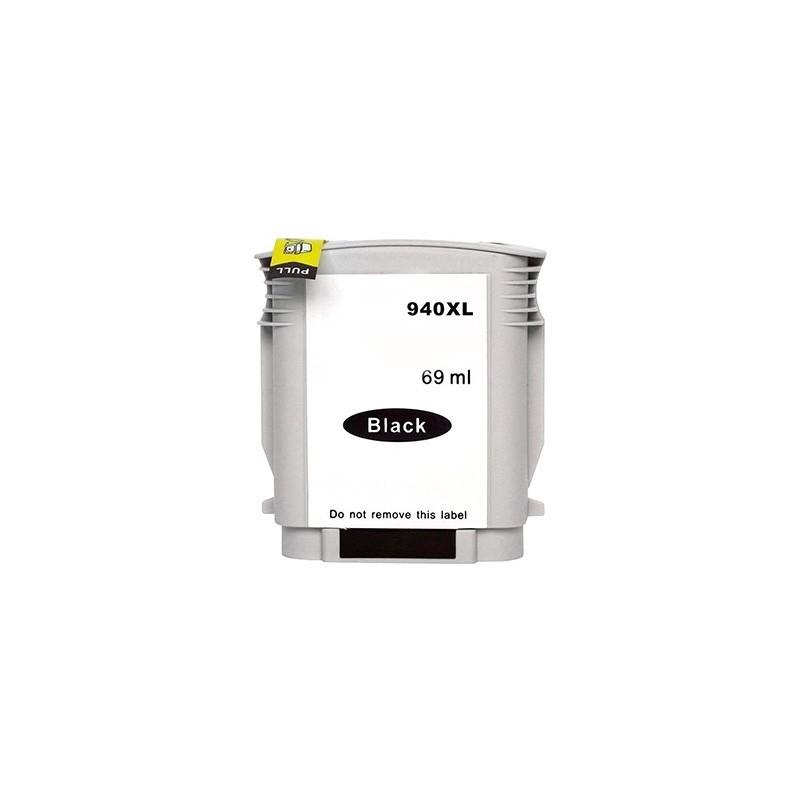 HP 940XL svart bläckpatron kompatibel