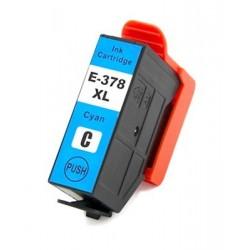 EPSON 378XL cyan bläckpatron kompatibel