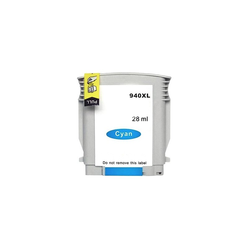 HP 940XL cyan bläckpatron kompatibel