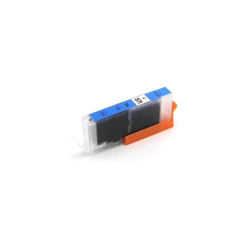 CANON CLI571 XL cyan bläckpatron kompatibel