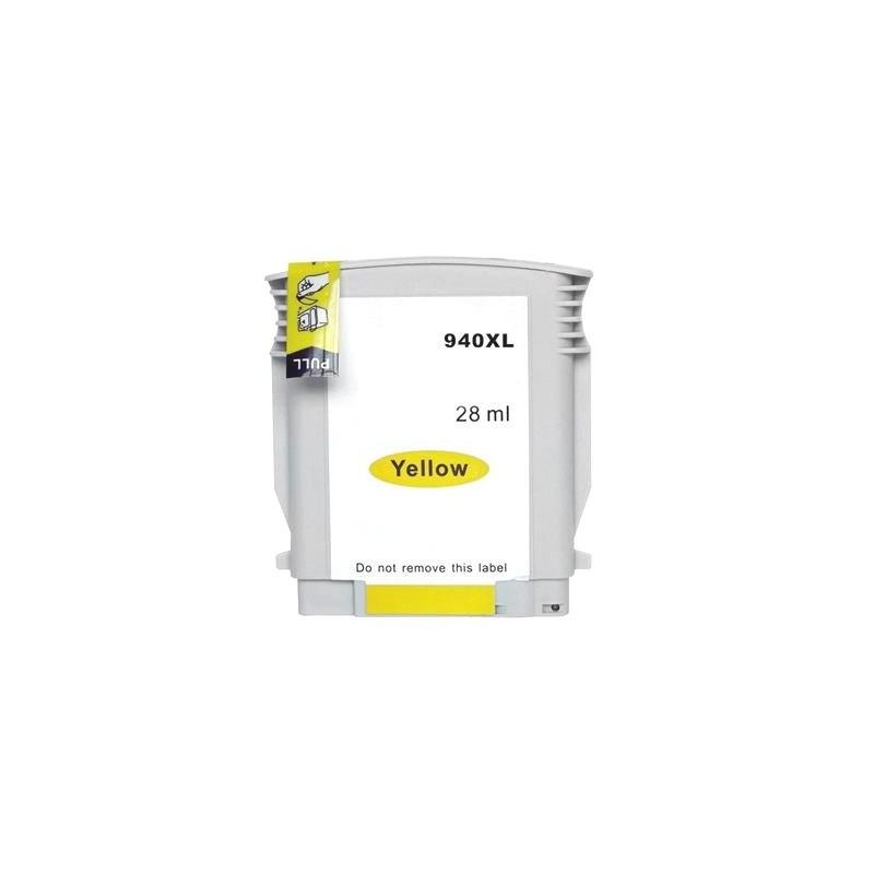 HP 940XL gul bläckpatron kompatibel
