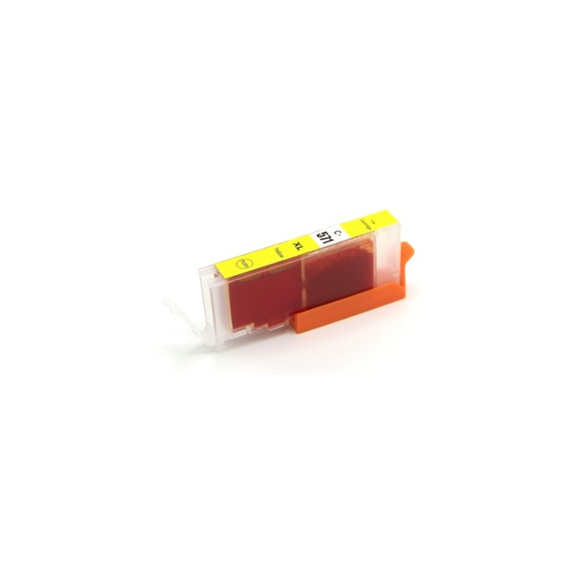 CANON CLI571Y XL gul bläckpatron kompatibel