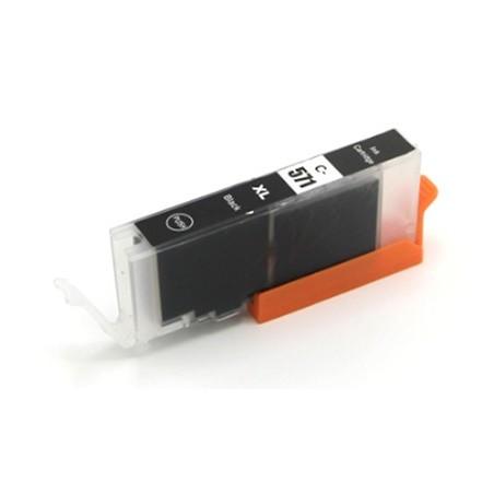 CANON CLI571BK XL fotosvart bläckpatron kompatibel