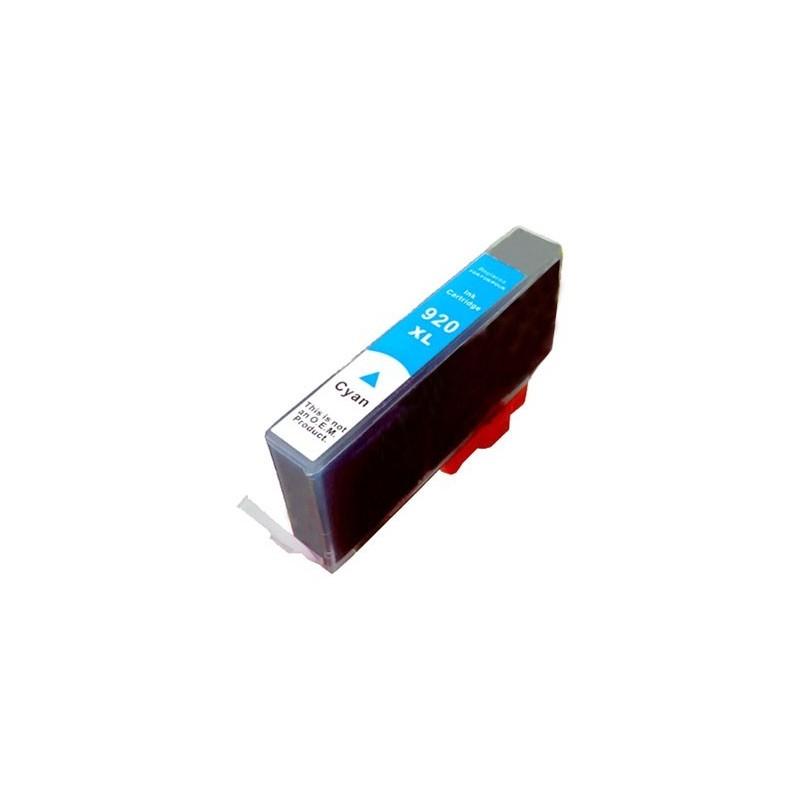 HP 920XL cyan bläckpatron kompatibel