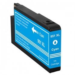 HP 951XL cyan bläckpatron kompatibel