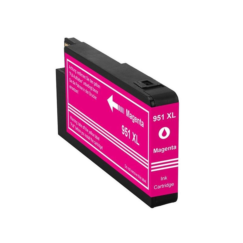 HP 951XL magenta bläckpatron kompatibel