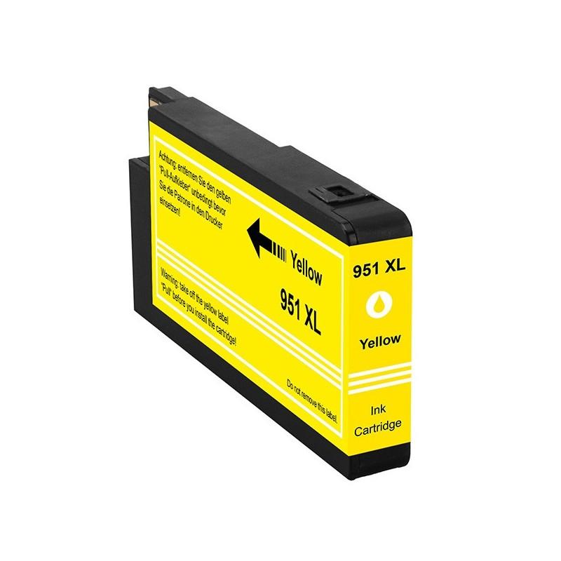 HP 951XL gul bläckpatron kompatibel