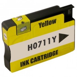 HP 711XL gul bläckpatron kompatibel
