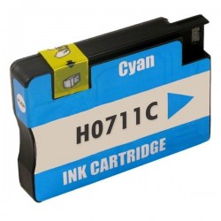 HP 711XL cyan bläckpatron kompatibel