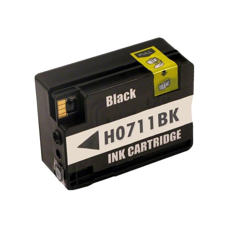 HP 711XL svart bläckpatron kompatibel