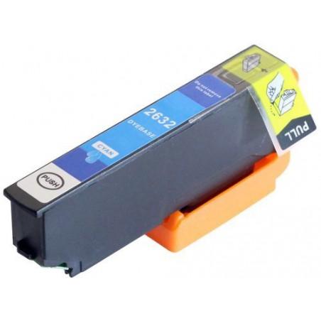 EPSON 26XL cyan bläckpatron kompatibel