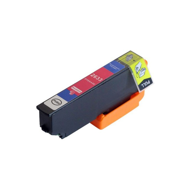 EPSON 26XL magenta bläckpatron kompatibel
