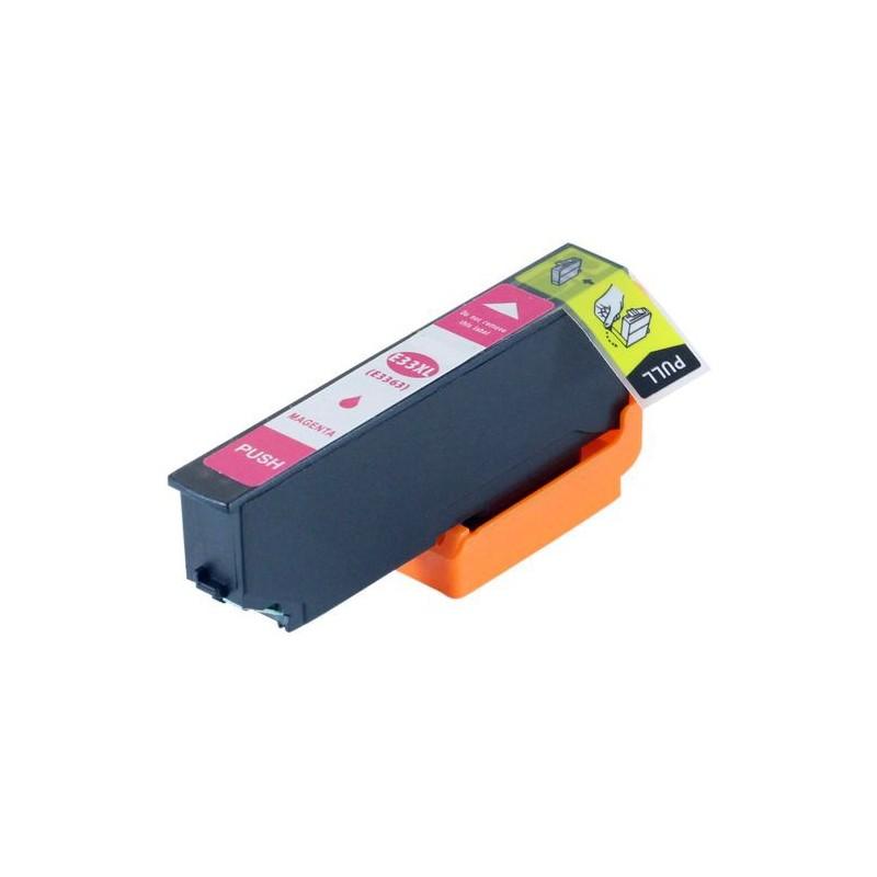 EPSON 33XL magenta bläckpatron kompatibel