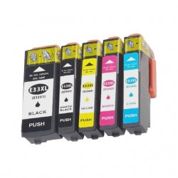 EPSON 33XL bläckpatroner multipack 5-pack kompatibla