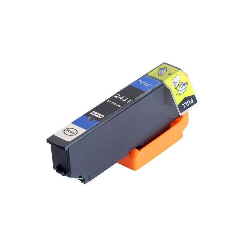 EPSON 24XL svart bläckpatron kompatibel