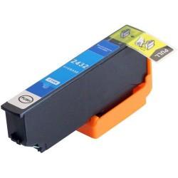 EPSON 24XL cyan bläckpatron kompatibel