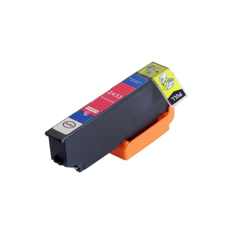 EPSON 24XL magenta bläckpatron kompatibel