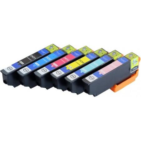 EPSON 24XL bläckpatroner multipack 6-pack kompatibla