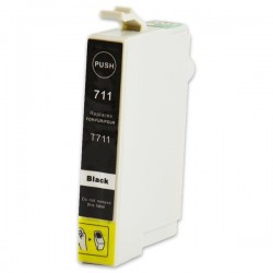 EPSON T0711 svart bläckpatron kompatibel