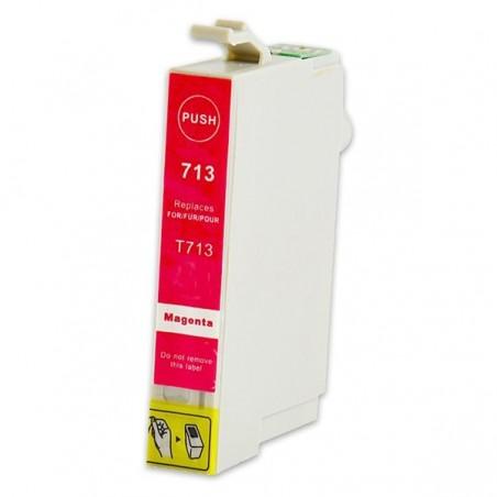 EPSON T0713 magenta bläckpatron kompatibel