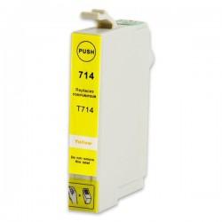 EPSON T0714 gul bläckpatron kompatibel