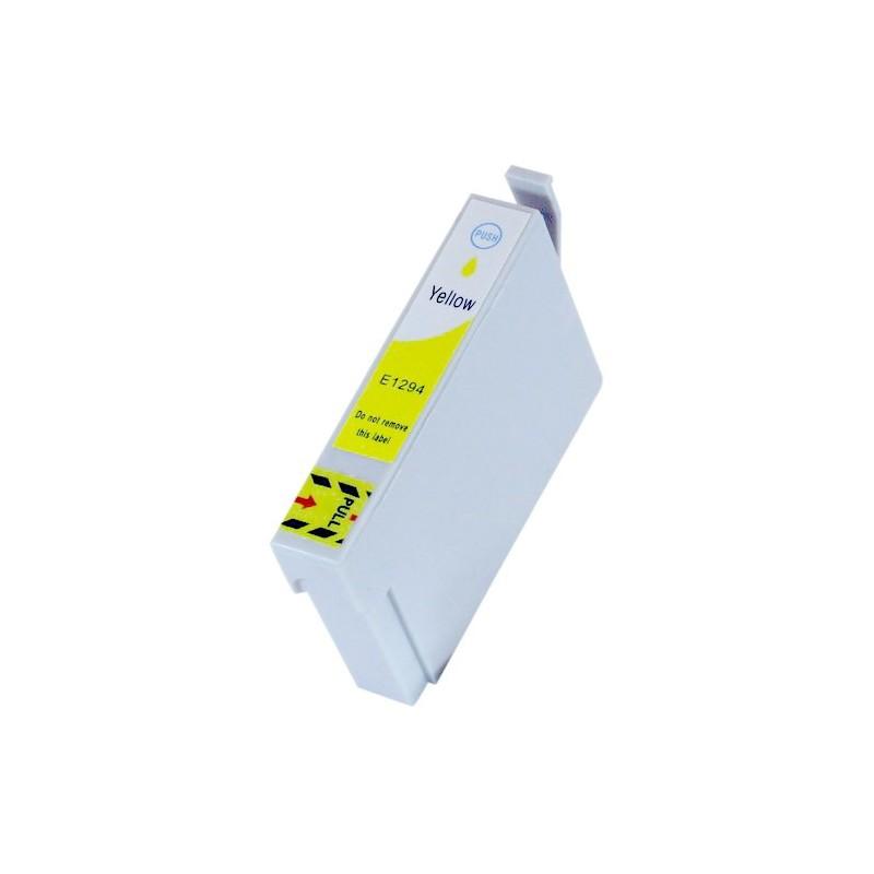 EPSON T1294 gul bläckpatron kompatibel