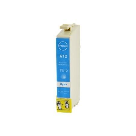 EPSON T0612 cyan bläckpatron kompatibel