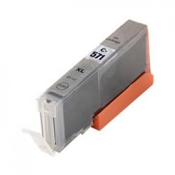 CANON CLI571GY XL grå bläckpatron kompatibel