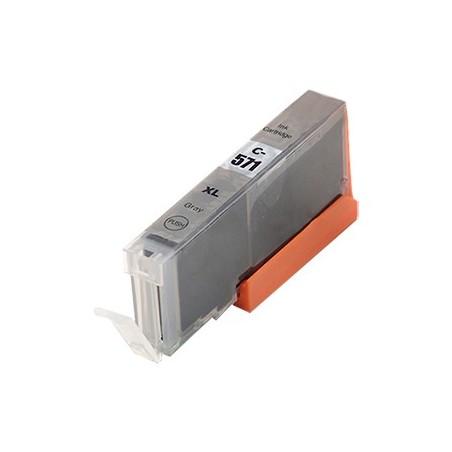 CANON CLI571 XL grå bläckpatron kompatibel