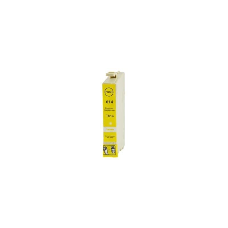 EPSON T0614 gul bläckpatron kompatibel
